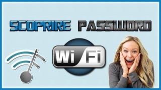 COME SCOPRIRE PASSWORD WIFI GRATIS PC 2017