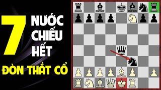 Tuyệt chiêu chơi cờ vua thắng nhanh: Bẫy khai cuộc chiếu thắt cổ