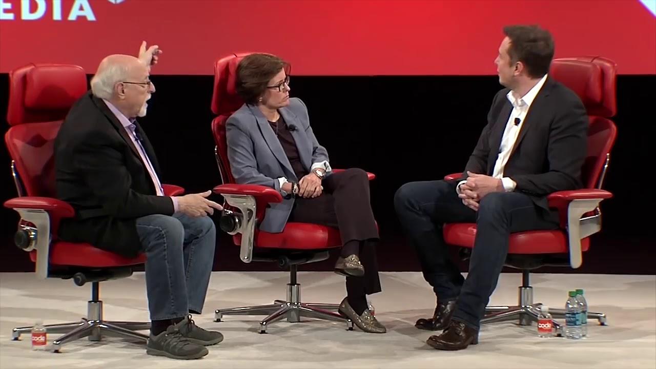 Elon Musk talks about Jeff Bezos