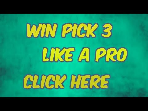 PICK 3 WINNERS KNOW THESE TRADE SECRETS PART 2