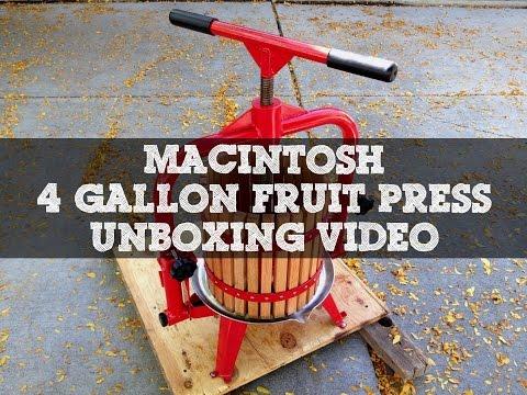 Fruit Press Unboxing
