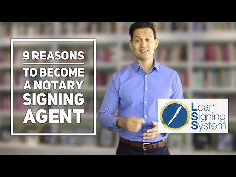 9 Reasons Why Being a Notary Loan Signing Agent is the Perfect Side Hustle
