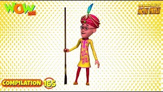 Motu Patlu - Non stop 3 episodes | 3D Animation for kids - #165