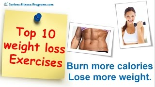Top 10 Best Exercise For Weight Loss Exercises To Lose Weight Fast