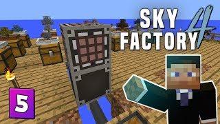 SkyFactory 4 - EP6 Starting Deep Mob Learning - PakVim net