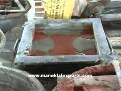 Manek - Tile Press for Cement and Mosaic Tiles, Hydraulic