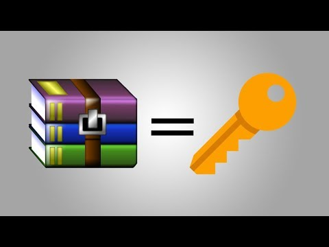 How to Bypass WinRar Password in 2018