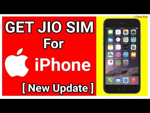How to Get Free Reliance 4G Jio for iPhone | Calls + Data!!!