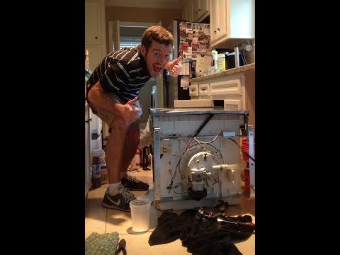 Frigidaire Dishwasher Water not Draining - Troubleshooting and Repair