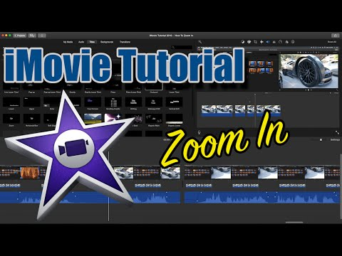 iMovie Tutorial 2016 - How To Zoom In