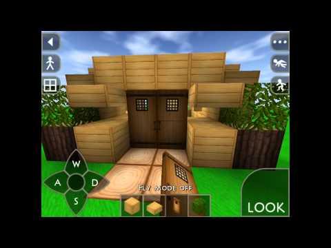 Survivalcraft let' s build part1 ( survival starter house )