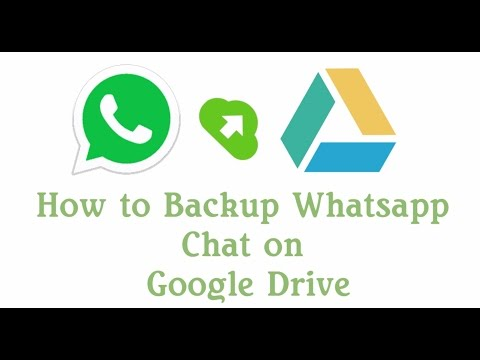 How to Backup WhatsApp Chat on Google Drive