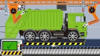 New Garbage Truck | Toy Factory | Video For Kids - Nowa śmieciarka z Fabryki
