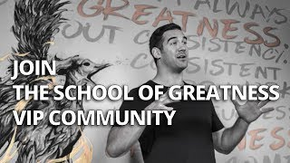 Join the School of Greatness Podcast VIP Community