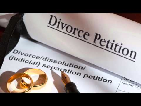How to divorce for low or no cost in England.