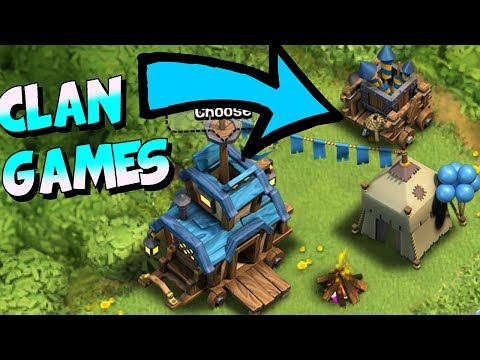 CLAN GAMES IS HERE!!!