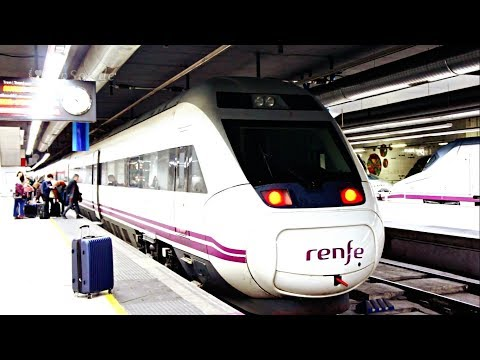 Train Travel Adventure to Bilbao City.