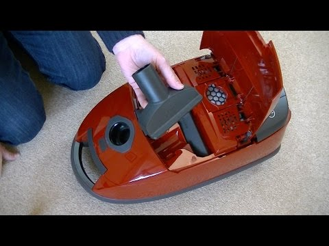 Miele Complete C1 Powerline Cat & Dog Vacuum Cleaner Review & Demonstration