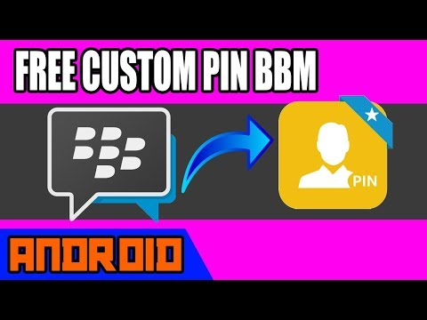 How To Get Free Custom PIN on BBM
