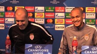 Leonardo Jardim & Fabinho Pre-Match Press Conference - Manchester City v Monaco - Champions League