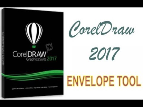 COREL DRAW 2017 USING ENVELOPE TOOL HINDI URDU PART 35