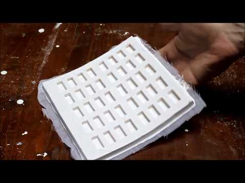 DIY How To Make Mold for Miniature Bricks - Actual Process of Making (homemade)