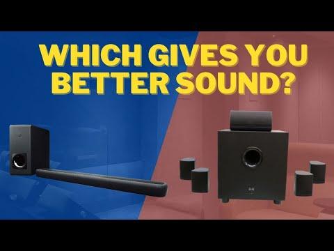 Soundbars vs HomeTheater Speakers - Choosing the right speaker for you