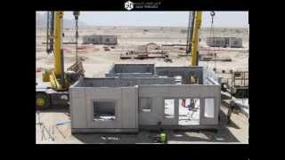Gulf Precast - Villa Superstructure Timelapse