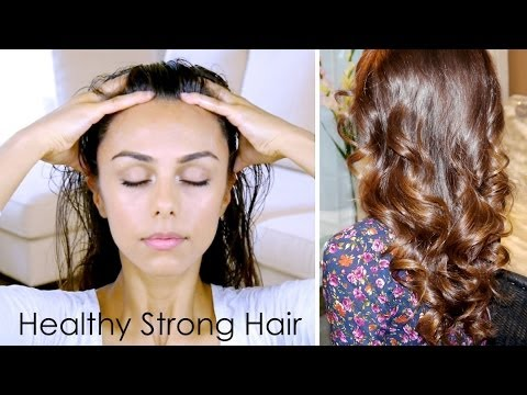 DIY Scalp Massage for Healthy Strong Hair! ♥ (Stimulates Growth & Conditions) | Annie Jaffrey