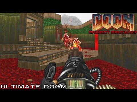 PROJECT BRUTALITY, a Brutal Doom Mod Gameplay #1 - playithub com