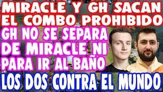 Download MIRACLE Y GH SE ENCUENTRAN EN RANKED Y SACAN EL COMBO PROHIBIDO   DOTA 2 Video
