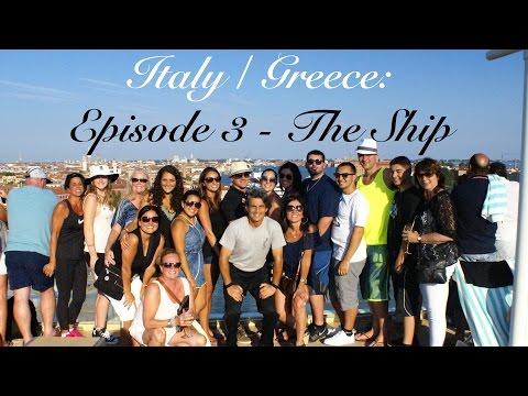 Boarding a Cruise Ship in Venice