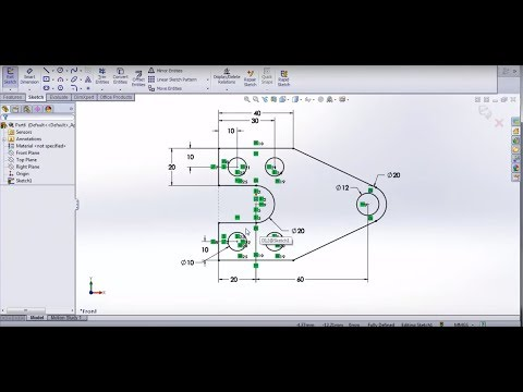Solidworks Tutorial 1 Creating Sketches