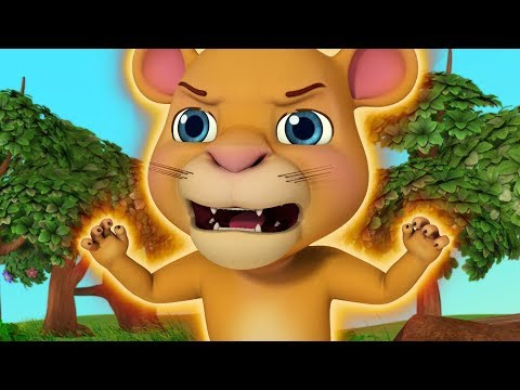 A Baby Lion Learns to Roar | Moral Stories for Children | Infobells