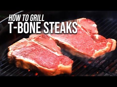 Grilled T-Bone Steak Recipe by the BBQ Pit Boys