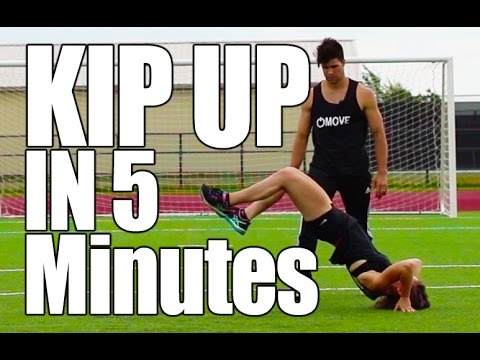 Learn How to Kip Up In 5 Minutes