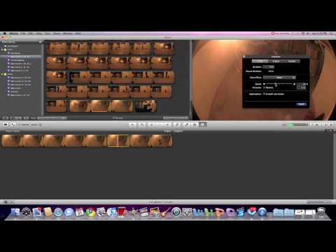 How to Ramp Slow Mo in Imovie 09