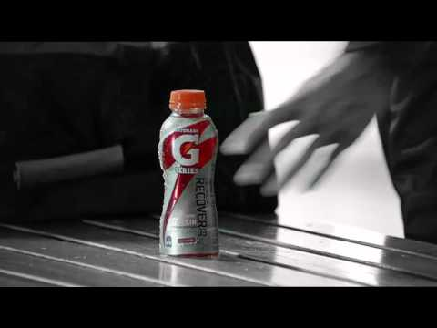 Gatorade RECOVER |  Protein drink to rebuild muscles