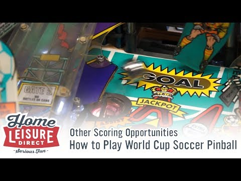How to Play World Cup Soccer Pinball: Other Scoring Opportunities