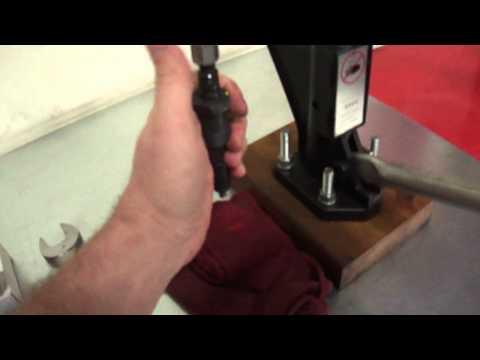 Ford 7.3 IDI Diesel (Turbo G code) injector pop test
