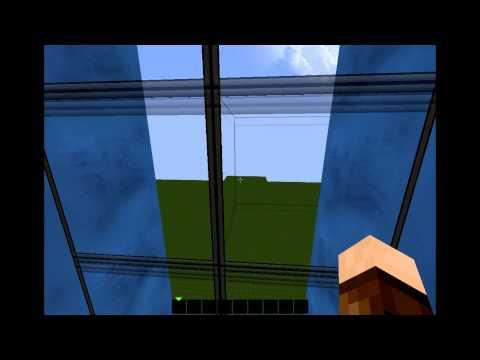 Minecraft -  Piston Elevator Fast Up&Down (no mods, only piston)