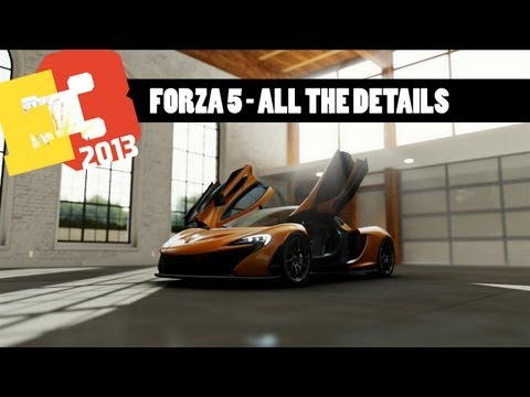Forza Motorsport 5 - All the details: career start cars, graphics and more car porn.