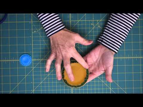 Quilting Tutorial: How to Make Easy Yo-Yos