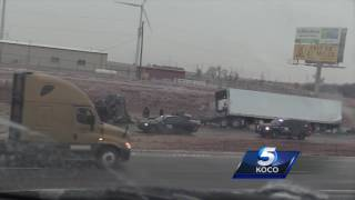 Web Extra: Slick and hazardous road conditions reported on I-40