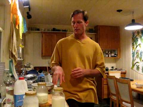 How to make milk kefir from grains part 2 of 2