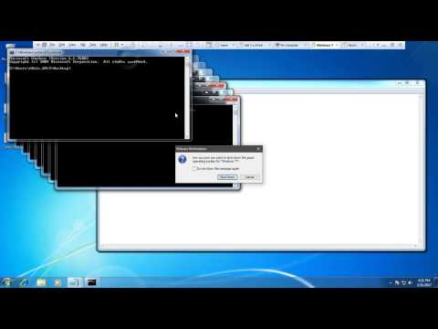 How to Create a Simple Virus Using Notepad #1