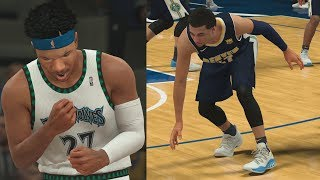 NBA 2K18 My Career - 21 Dimes! Another 1 Leaning! PS4 Pro 4K Gameplay