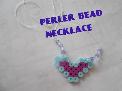 Perler Bead Necklace