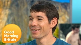 Alex Honnold on Climbing 3,200 Feet Without Any Rope | Good Morning Britain
