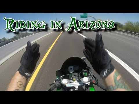 Riding in Arizona + Updates